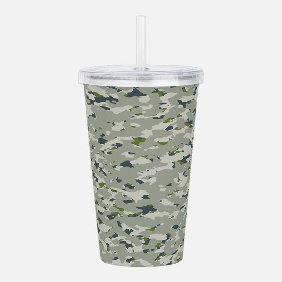 Camouflage: Arctic Tun Acrylic Double-wall Tumbler
