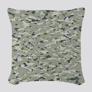 Camouflage: Arctic Tundra IV Woven Throw Pillow