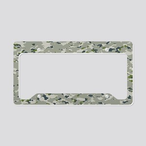 Camouflage: Arctic Tundra IV License Plate Holder