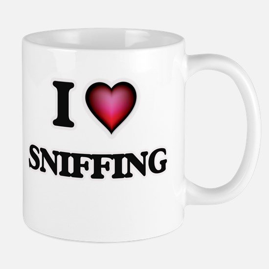 I love Sniffing Mugs