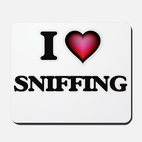 I love Sniffing Mousepad