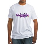 baby dyke Fitted T-Shirt