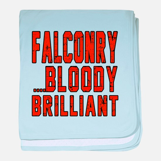 Falconry Bloody Brilliant Sports Desi baby blanket