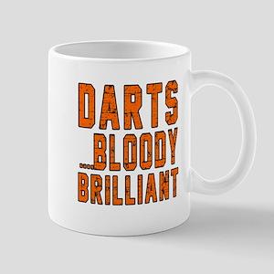 Darts Bloody Brilliant Sports Designs Mug