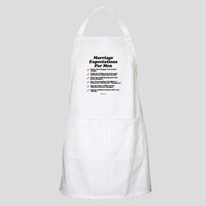 Marriage Expectations For Men BBQ Apron