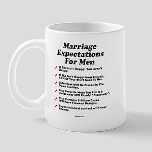 Marriage Expectations For Men Mug