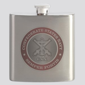 Confederate States Navy Flask