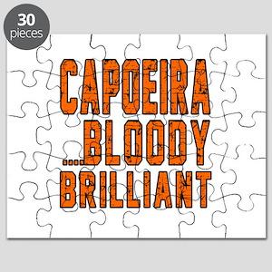 Capoeira Bloody Brilliant Sports Designs Puzzle