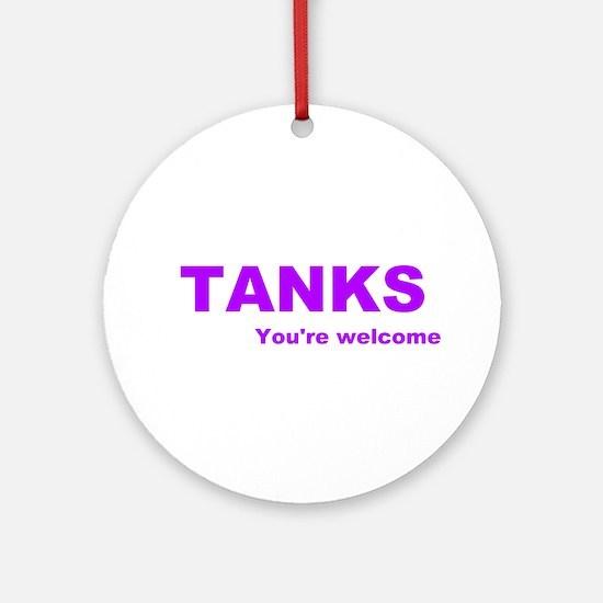 TANKS Ornament (Round)