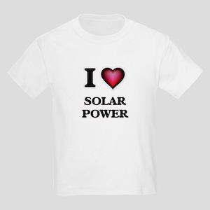 I love Solar Power T-Shirt
