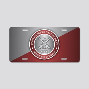 Confederate States Navy Aluminum License Plate