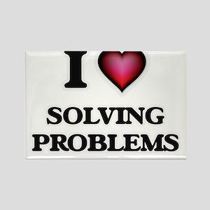 I love Solving Problems Magnets