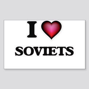 I love Soviets Sticker