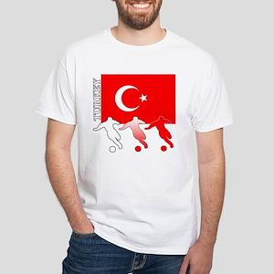 Turkey Soccer Women's Dark T-Shirt