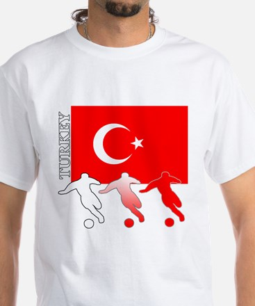 Turkey Soccer Women's Dark T-Shirt