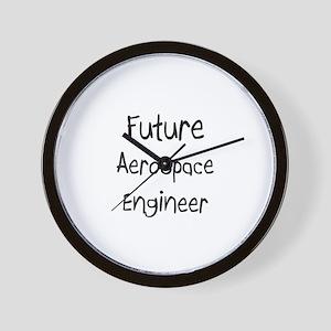 Future Aerospace Engineer Wall Clock