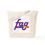 fag Tote Bag
