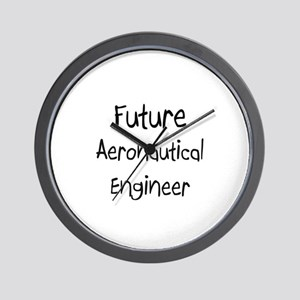 Future Aeronautical Engineer Wall Clock
