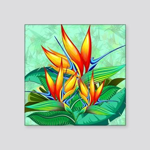 Bird of Paradise Flower Exotic Nature Sticker