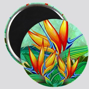 Bird of Paradise Flower Exotic Nature Magnets