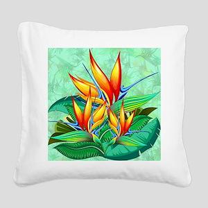 Bird of Paradise Flower Exotic Nature Square Canva