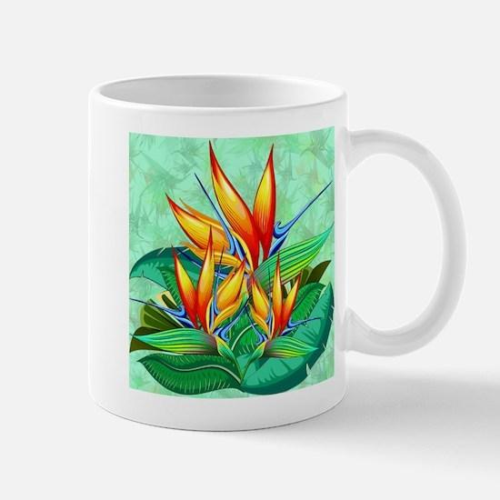 Bird of Paradise Flower Exotic Nature Mugs