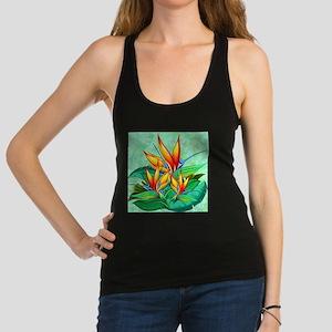 Bird of Paradise Flower Exotic Nature Racerback Ta