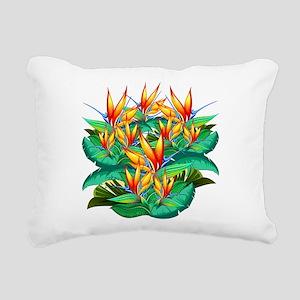 Bird of Paradise Flower Exotic Nature Rectangular