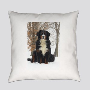 Berner in Snow Everyday Pillow