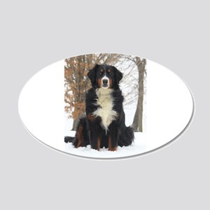 Berner in Snow Wall Decal