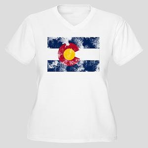 colorado-flag Plus Size T-Shirt