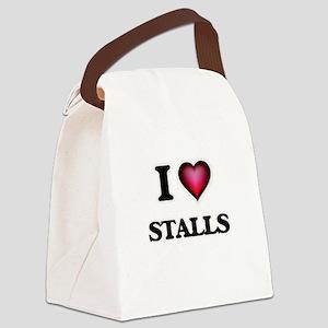 I love Stalls Canvas Lunch Bag