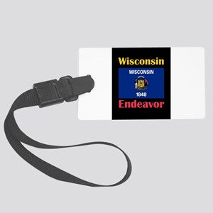 Endeavor Wisconsin Luggage Tag