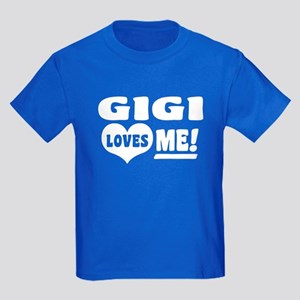 Gigi Loves Me Kids Dark T-Shirt