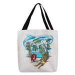 No Worries Polyester Tote Bag