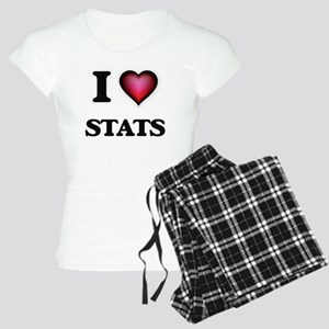 I love Stats Women's Light Pajamas
