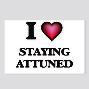 I Love Staying Attuned Postcards (Package of 8)