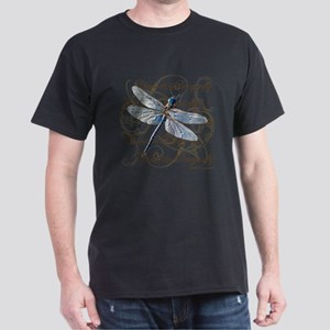 Blue Dragonfly Collage T-Shirt