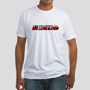My Husband is Imported (Canada) Fitted T-Shirt