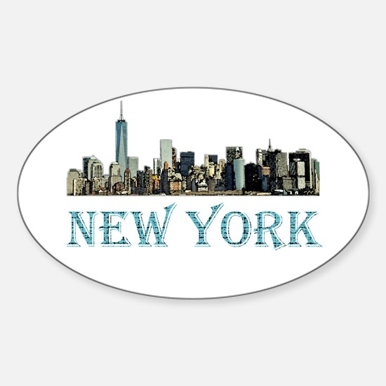 New York City Decal