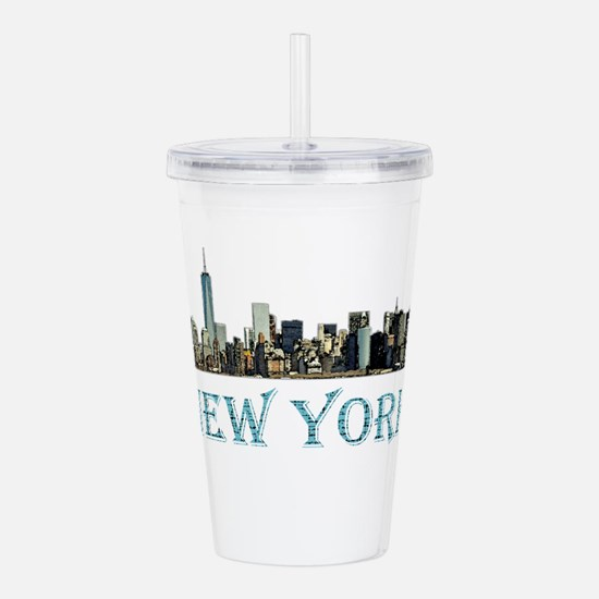 New York City Acrylic Double-wall Tumbler