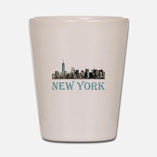 New York City Shot Glass