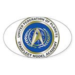 Starfleet Model Academy Logo Sticker