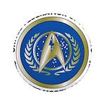 Starfleet Model Academy Logo Button