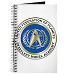 Starfleet Model Academy Logo Journal