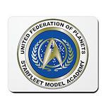 Starfleet Model Academy Logo Mousepad