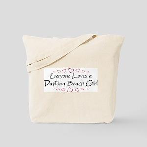 Daytona Beach Girl Tote Bag