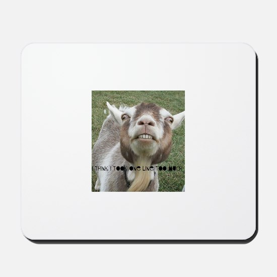 Highwired Goat Mousepad