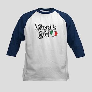 Nonni's Girl Kids Baseball Jersey