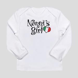Nonni's Girl Long Sleeve Infant T-Shirt